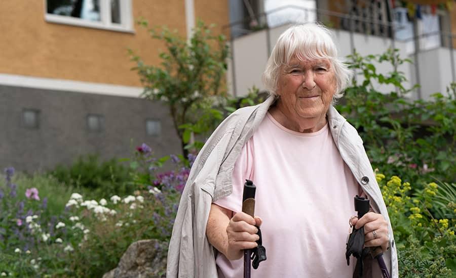 Inger Sundström har bott i Högdalen i 13 år