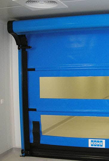 KONE hermetic doors can be customized for example for medical centers' needs.